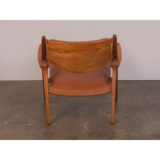 Hans J. Wegner Ch-28 Armchair for Carl Hansen & Son For Sale In New York - Image 6 of 12