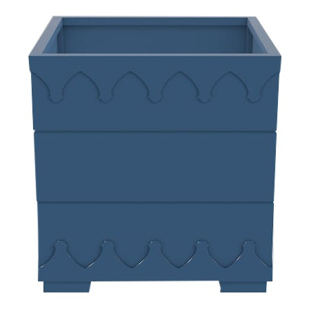 Oomph Ocean Drive Outdoor Planter Small, Blue For Sale