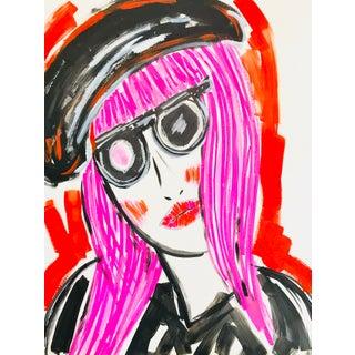 Tony Marine Pop Art Contemporary Portrait Painting For Sale