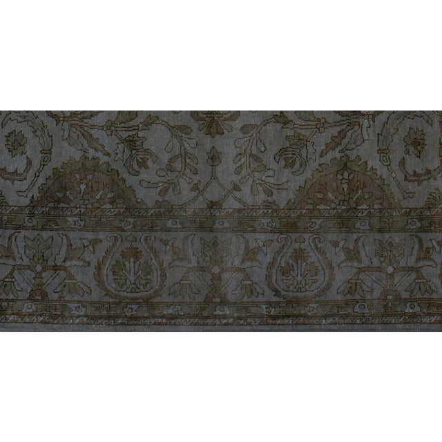 Early 21st Century Over Dyed Color Reform Oretha GrayWool Rug - 8'2 X 10'0 A1435 For Sale - Image 5 of 7