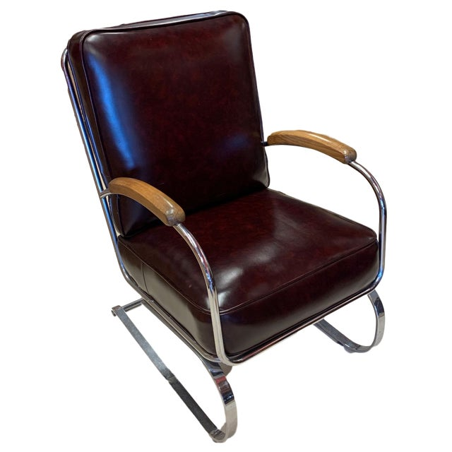 Kem Weber Style Spring Lounge Chair For Sale - Image 13 of 13