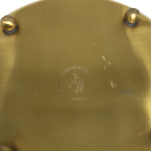 Vintage Brass Footed Bowl/Planter For Sale - Image 7 of 8