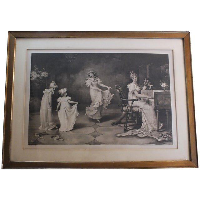 """When the Heart Is Young"" Original Antique Print For Sale"