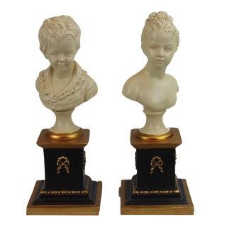 Pasargad N Y Houdon Busts - A Pair