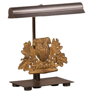 Elaborate Gilded Brass Ornament, France c.1850, Mounted as a Custom Lamp For Sale