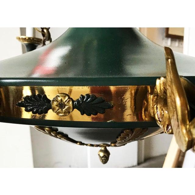 Vintage Huge Eleven-Light 1st French Empire Chandelier For Sale - Image 4 of 10