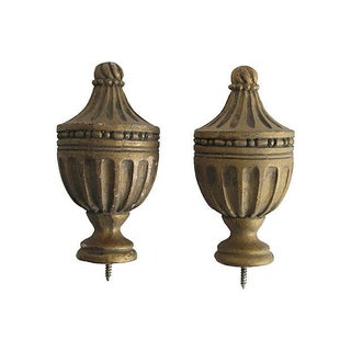 Neoclassical Finials - A Pair