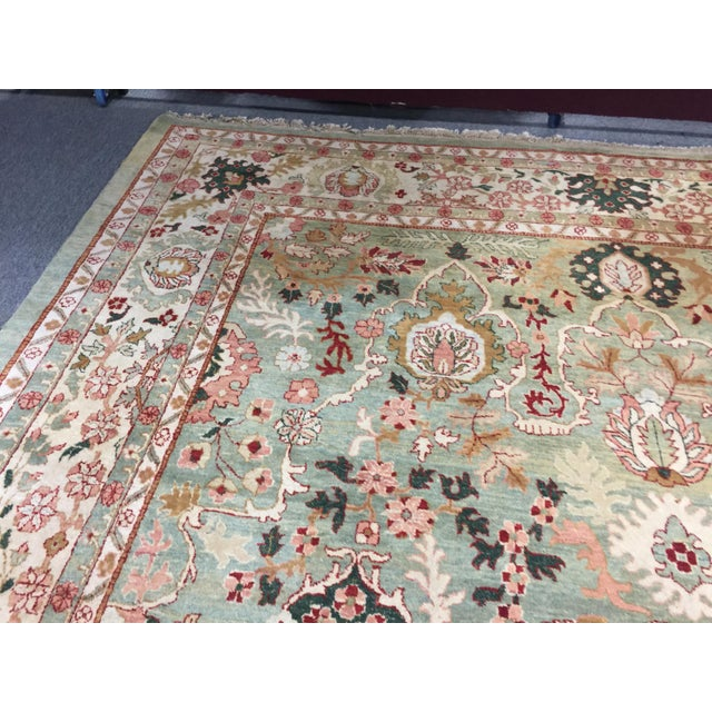 "Textile Indo Persian Tabriz 152""x219"" For Sale - Image 7 of 8"