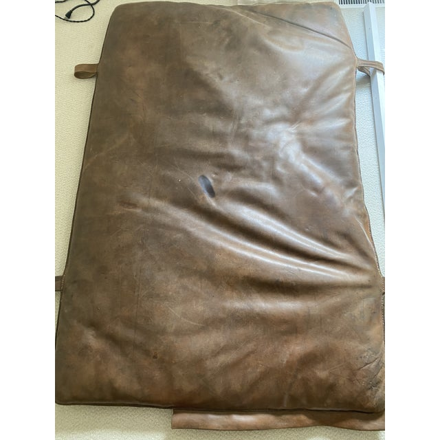 Leather Gym Mattress Czech, 1930 For Sale - Image 9 of 11