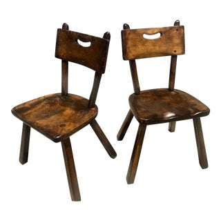 1950s Vintage Cushman Colonial Creations Malden Side Chairs - A Pair