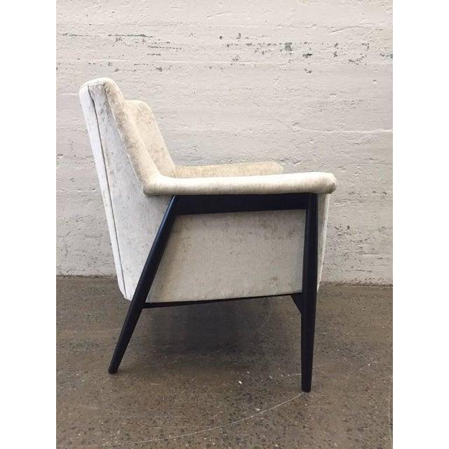 Pair of Danish Modern Lounge Chairs Ib Kofod Larsen - Image 3 of 7