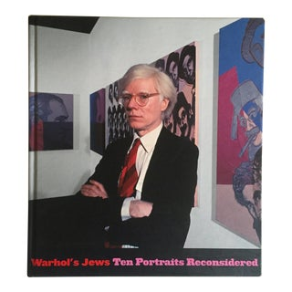 """ Warhol's Jews : Ten Portraits Reconsidered "" Rare 1st Edtn Collector's Exhibition Hardcover Art Book For Sale"
