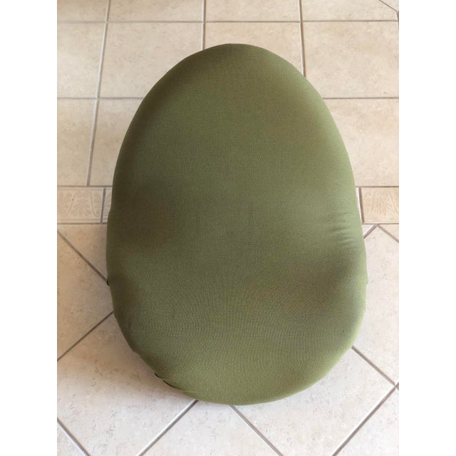 1960s Pierre Paulin for Artifort Green and Blue Tongue Chairs For Sale - Image 5 of 12