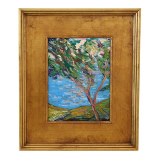 Stunning Impressionist California Landscape Painting by Juan Pepe Guzman For Sale