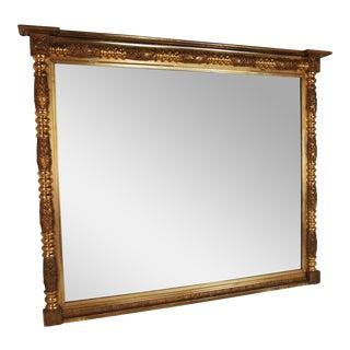 19th Century American Federal Gilt Mirror For Sale