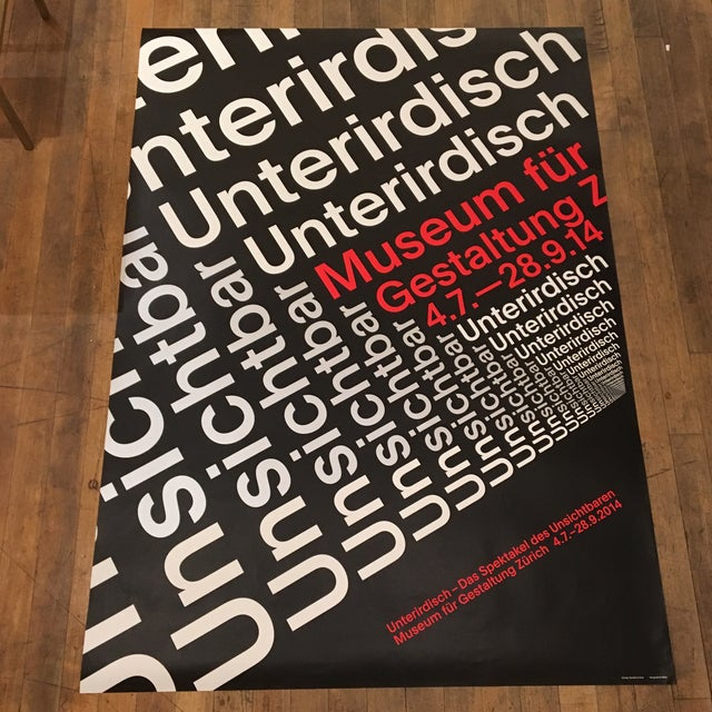 Modern Swiss Helvetica Poster - Image 2 of 6