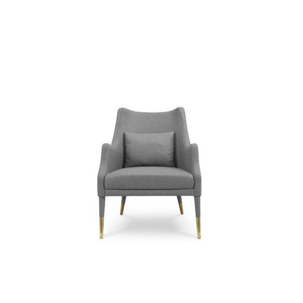 Not Yet Made - Made To Order Armchair Carver From Covet Paris For Sale - Image 5 of 5
