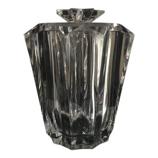 Lucite Tiara Star Ice Bucket, William Bounds For Sale