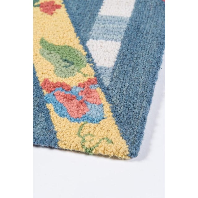 """Madcap Cottage Summer Garden Think of England Multi Area Rug 3'6"""" X 5'6"""" For Sale In Atlanta - Image 6 of 8"""