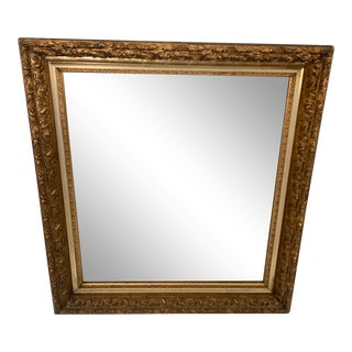 Late 20th Century Gilt Wood Mirror For Sale