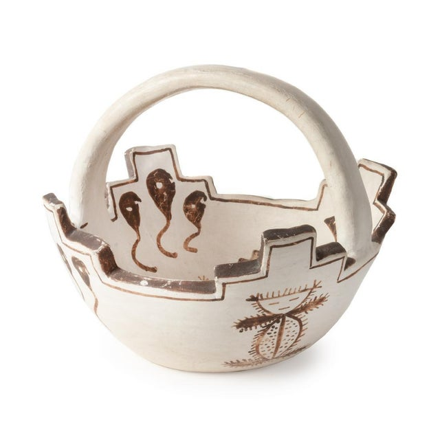 Jennie Laate Southwestern Prayer Bowl With Handle For Sale - Image 13 of 13