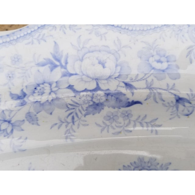 Asian Christmas Turkey Asiatic Pheasant Carving Platter For Sale - Image 3 of 8