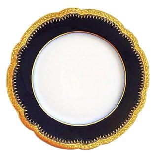 """Versailles Porcelain Plate Double Gilding Collection """"Palais De ..."""" 30 Pieces"""