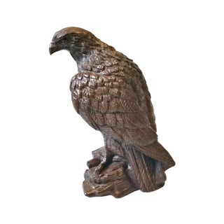 1950s Vintage Mid Century Barwood Eagle Hawk Figurine For Sale
