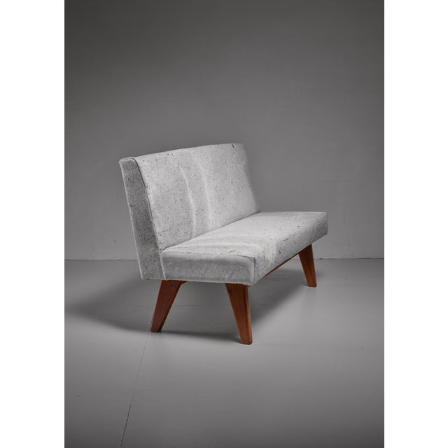 Pierre Jeanneret Pierre Jeanneret Chandigarh High Court bench, 1950s For Sale - Image 4 of 4