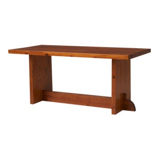 Axel Einar Hjorth Pine Dining Table For Sale