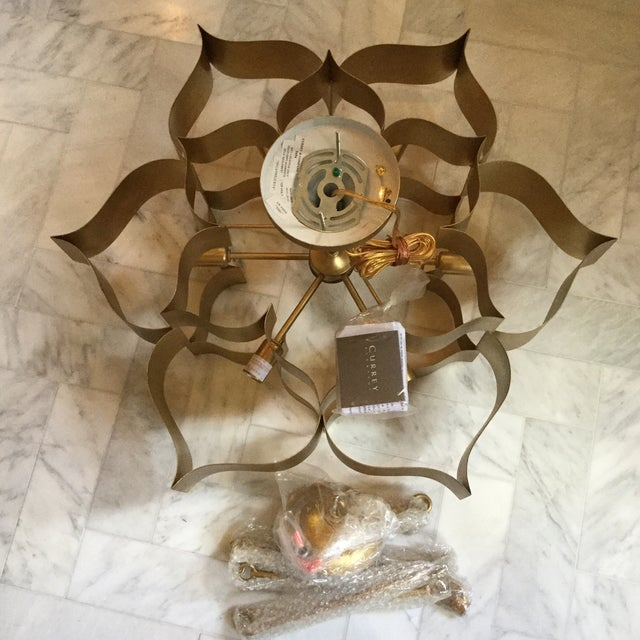 Currey Company Grand Lotus Chandelier For Image