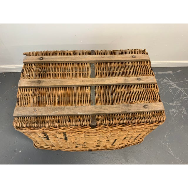 Mid 20th Century Vintage Mid Century Basket For Sale - Image 5 of 6