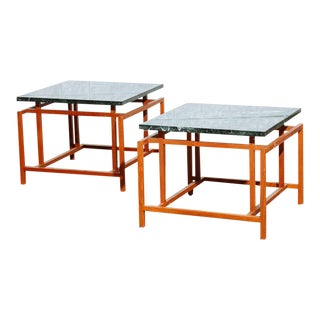Henning Norgaard Sculptural Teak End Tables - A Pair For Sale