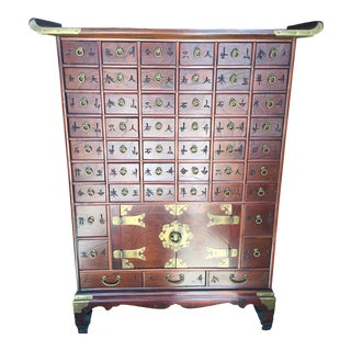 Chinese Apothecary Cabinet For Sale