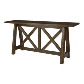"""Century """"Smaller"""" Tierra Console Table For Sale"""