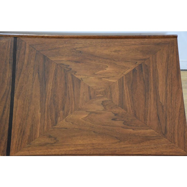 Walnut and Rosewood Coffee Table - Image 7 of 7