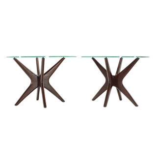 Pair of Jacks End Tables by Adrian Pearsall For Sale