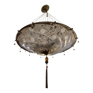 Mariano Fortuny Archeo Venice Murano Glass Chandelier For Sale