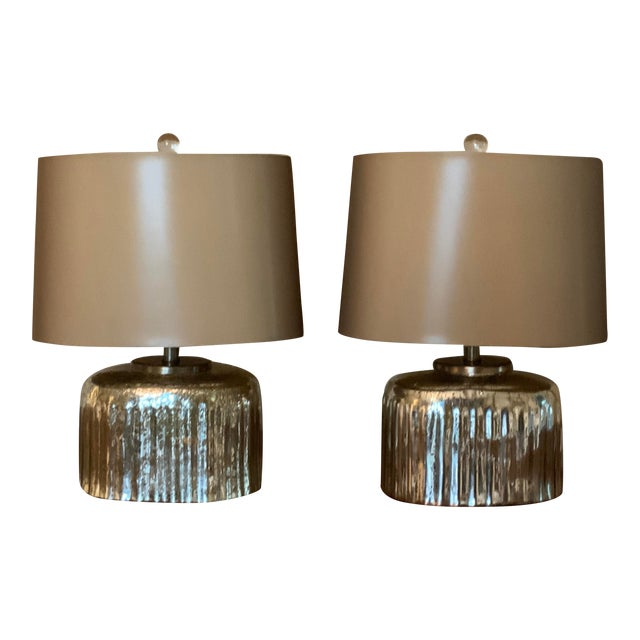 1990s Arteriors Lamps - a Pair For Sale