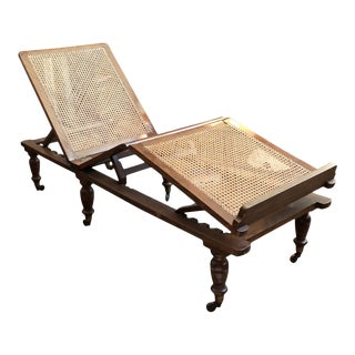 Victorian Folding Campaign Bed For Sale