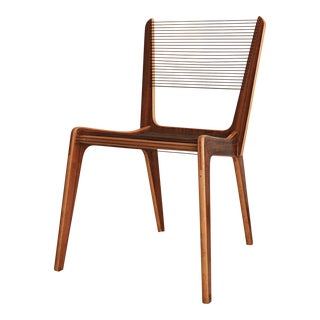 1950s Vintage Jacques Guillon Cord Chairs For Sale