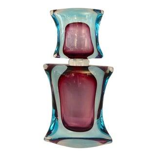 Massive L. Onesto, Murano Glass Bottle For Sale