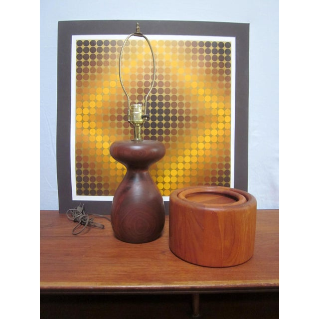 Vasarely Op Art Lithograph For Sale In Phoenix - Image 6 of 6