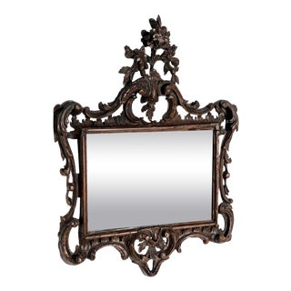 Antique Italian Baroque Style Mirror For Sale