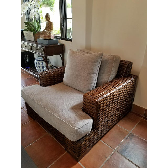 Contemporary Ralph Lauren Canyon Club Chair For Sale - Image 3 of 5
