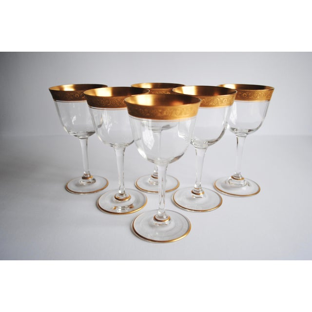 Gold Encrusted Cocktail Glasses - Set of 6 - Image 3 of 4