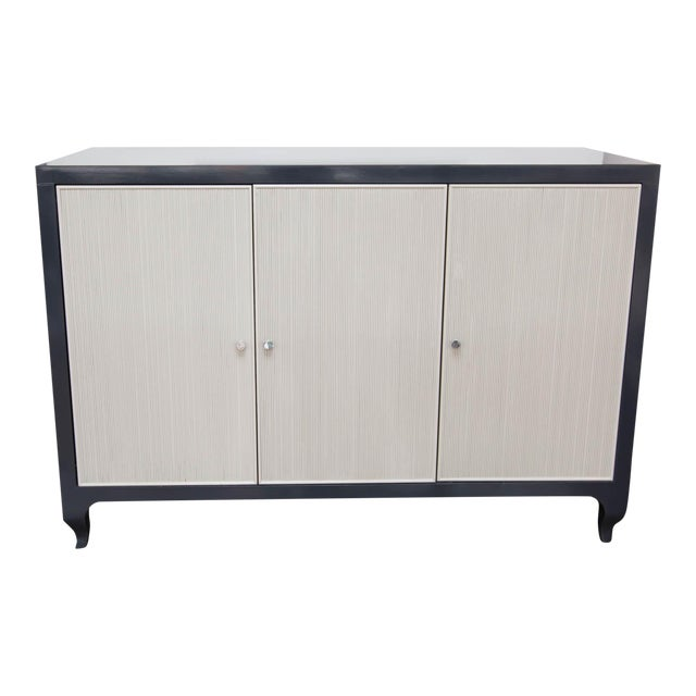 Lacquered Baker Media Cabinet For Sale