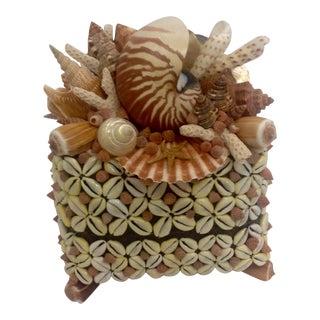 Sunrise Tea Basket, Shelled Box, Signed by Artist For Sale