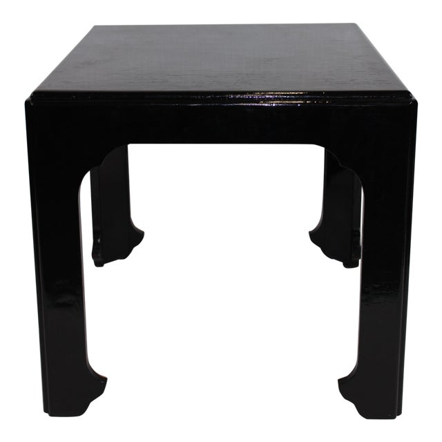 1990s Asian Antique Baker Furniture 'Far East Collection' Side Table For Sale
