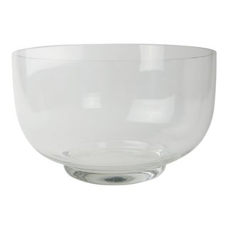 Rosenthal Modern Minimalist Style Crystal Bowl For Sale